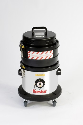 Air Powered Vacuum : Kerstar kav h hazardous dust air powered dry vacuum