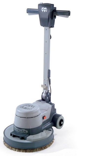 Numatic nrt1530 16 twin speed floor scrubber and for 16 floor buffer